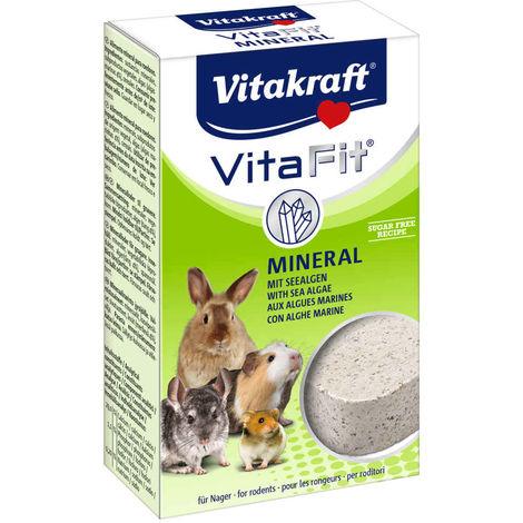 Vitakraft - Mineral Vita Fit aux Algues Marines pour Rongeurs