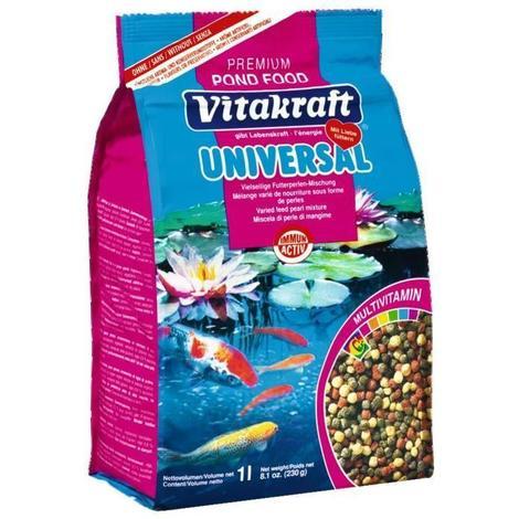 VITAKRAFT Pond food universel sticks sachet fraîcheur - Pour poissons - 1 L