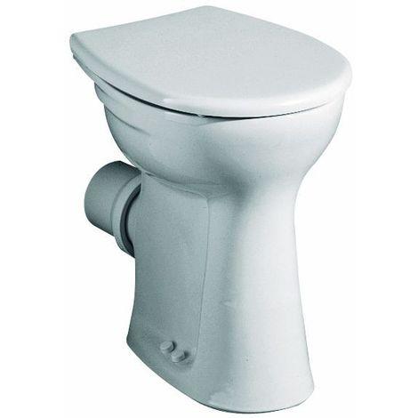 Vitalis Flachspül-WC, 6l, bodenst. Abg. waagr., H:460mm, weiß