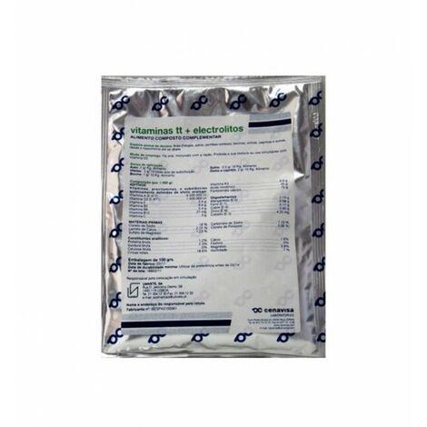 Vitaminas TT con electrolitos sobre de aluminio 100 gr