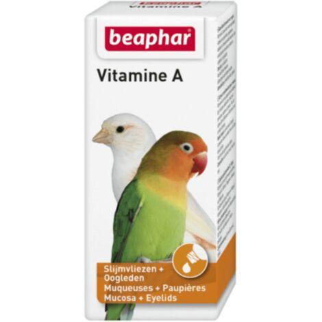 Vitamine A BEAPHAR pour oiseaux liquides 20 ml