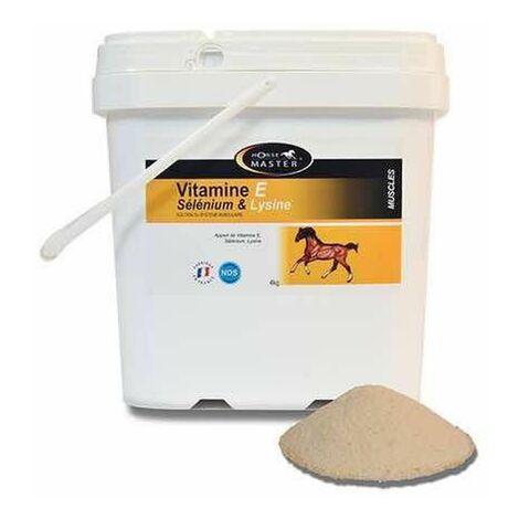 Vitamine E + Sélénium + Lysine Cheval - Contenance: 1 kg