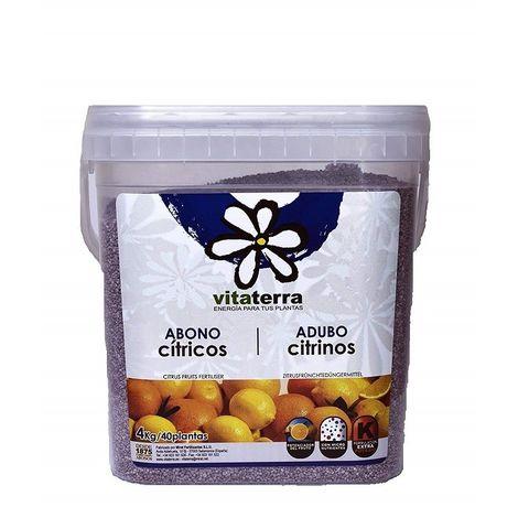 Vitaterra Abono citricos cubo 4 Kg