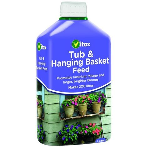 Vitax Liquid Feed For Hanging Baskets 1L Makes 200 Litres