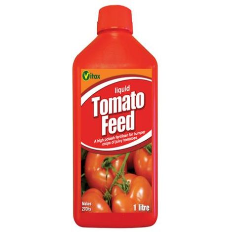 Vitax Liquid Tomato Feed 1L - Tomatoes Grown Indoors or Outdoors