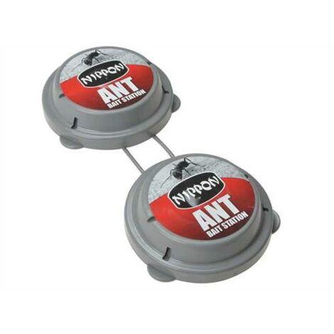 Vitax Nippon Ant Bait Station Twin Pack