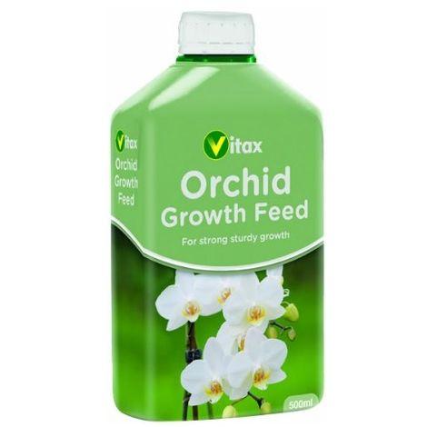 Vitax Orchid Growth Liquid Feed 500ml - Plant Food