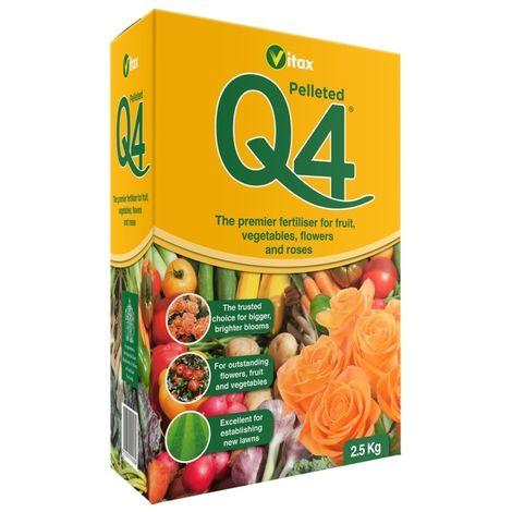 Vitax Q4 Fruit Veg and Roses Feeder Plant Food Fertliser - 0.9kg