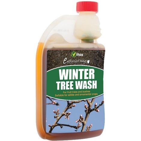 Vitax Winter Tree Wash 500ml - Removes Insects From Fruit Trees And Bushes