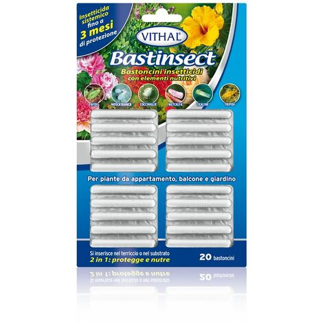 VITHAL BASTINSECT PPO 20 BASTONCINI