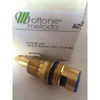 vitone ceramico ottone meloda G020S / G020D