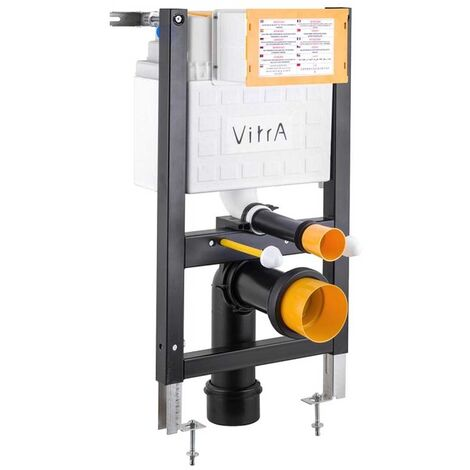 Vitra 750mm H Wall Hung Reduced Height Toilet Frame with 3/6 Litre Concealed Cistern