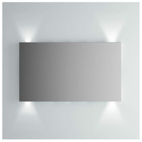 Vitra Brite Illuminated Bathroom Mirror 700mm H x 1200mm W