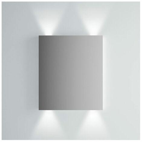Vitra Brite Illuminated Bathroom Mirror 700mm H x 600mm W