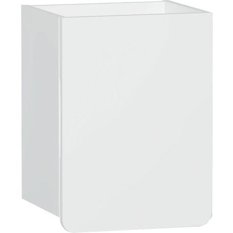Vitra D-light Side Storage Unit 400mm Wide - Matte White