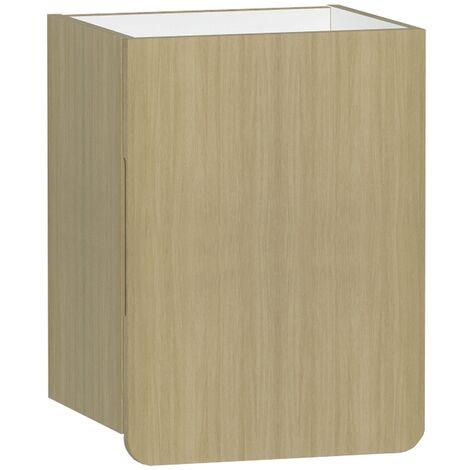 Vitra D-light Side Storage Unit 400mm Wide - Natural Oak