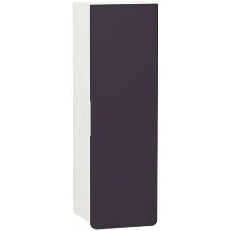 Vitra D-light Tall Storage Unit 360mm Wide - Matte White / Purple