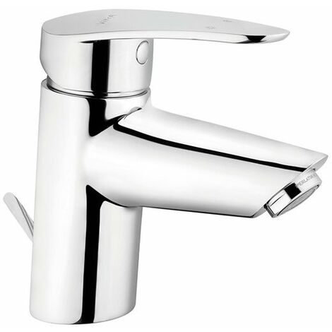 Vitra Dynamic Basin Mixer Tap with Pop Up Waste - Chrome