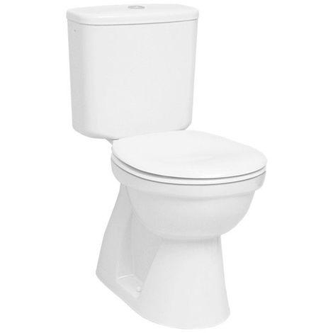 VITRA - Pack WC complet NORMUS 38cm sortie verticale blanc 3/6L - 9770B003-0599