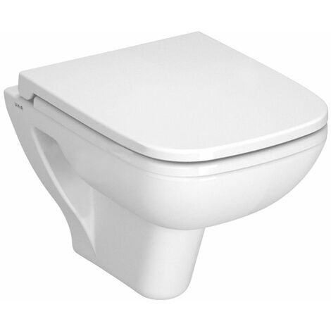 Vitra S20 Wall Hung Toilet Pan 520mm Projection - Soft Close Seat