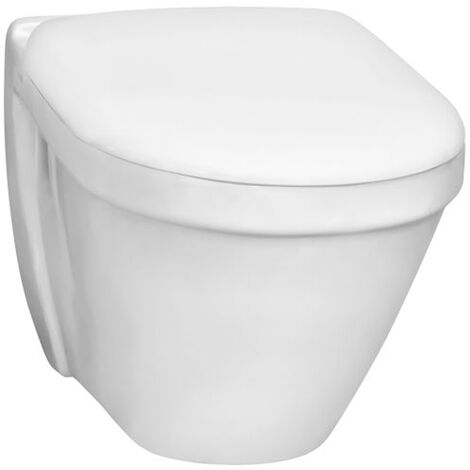 VitrA S50 480mm Short Projection Wall Hung Toilet WC - Standard Seat