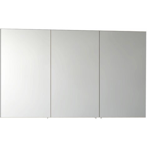 VitrA S50 Mirror Cabinet 1200mm W White