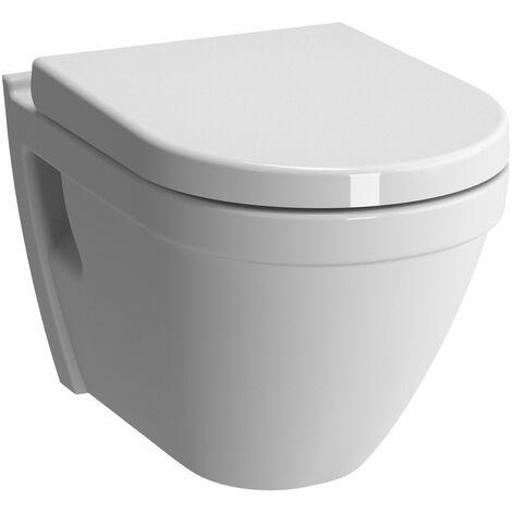 VitrA S50 Wall Hung Toilet WC Rimless - Soft Close Seat