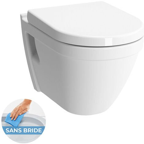 Vitra Sento Wc Pan with soft close seat and lid (7740-003-0075 + 72-003-309)