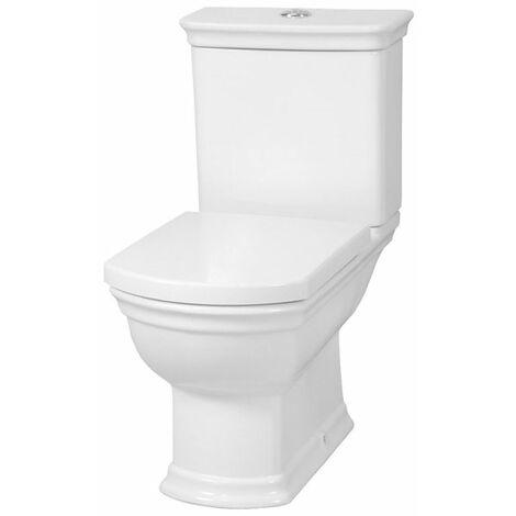VitrA Serenada Close Coupled Toilet WC Push Button Cistern - Soft Close Seat