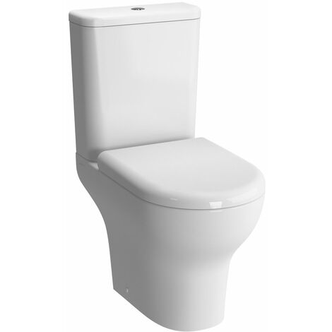 VitrA Zentrum Close Coupled OB Toilet WC Push Button Cistern - Standard Seat