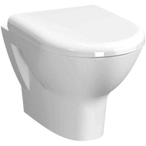 Vitra Zentrum Rimless Wall Hung WC pan - Standard Seat
