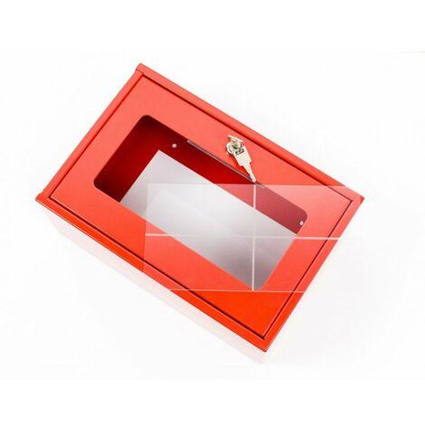 Vitre plexiglas 250x250x150mm