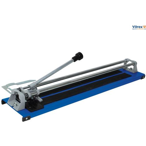 VITREX MANUAL FLAT BED TILE CUTTER 600MM