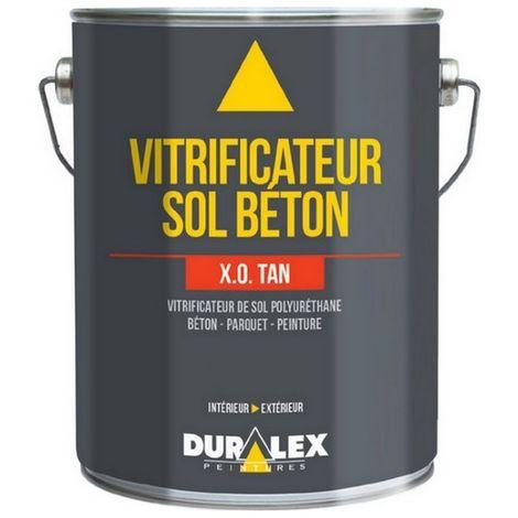 Vitrificateur béton DURALEX verni, vitrifie et protège les sols INCOLORE