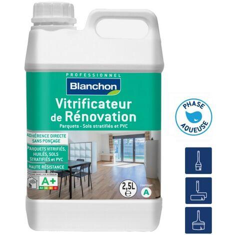 Vitrificateur de Rénovation BLANCHON Bi-composant polyuréthane SATIN | Conditionnement: 2,5 Litres - Finition: Satin