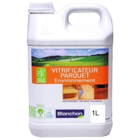 Vitrificateur parquet environnement, incolore satiné, bidon de 1 litre
