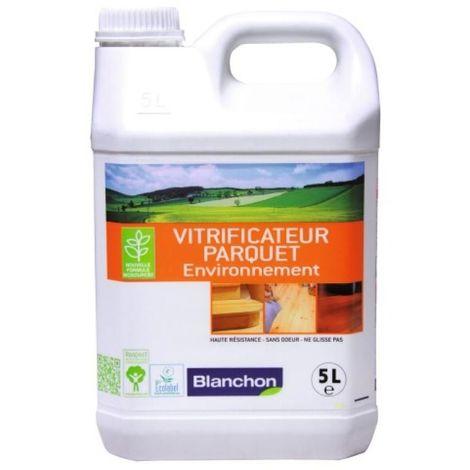 Vitrificateur parquet environnement, incolore satiné, bidon de 5 litres
