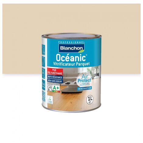 Vitrificateur parquet Océanic Air Protect, finition bois brut, bidon de 1 litre