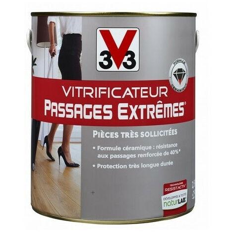Vitrificateur parquet passages extrêmes V33 - Contenance - Couleur: 2.5 L incolore satin