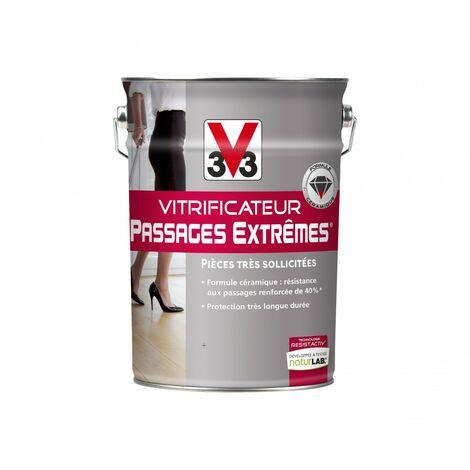Vitrificateur parquet Passages extrêmes® V33, incolore mat, 5 l