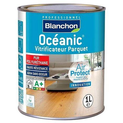 Vitrificateur parquet Professionnel BLANCHON Océanic Aqua-Polyuréthane haute résistance