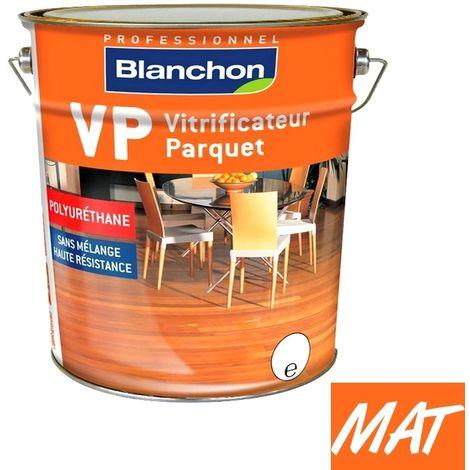 Vitrificateur parquet Professionnel BLANCHON VP incolore MAT SOIE CIRE NATURELLE