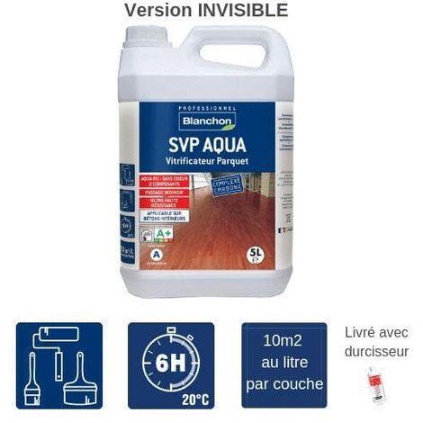 Vitrificateur Parquet SVP Aqua Blanchon - Invisible - 5L
