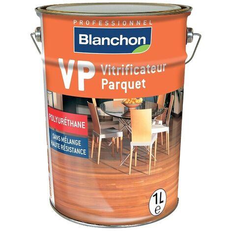 Vitrificateur parquet VP mono-composant à base de résine polyuréthane, souple et résistant, finition brillante bidon 1l