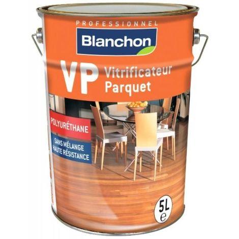 Vitrificateur parquet VP mono-composant à base de résine polyuréthane, souple et résistant, finition chêne ciré bidon 5l