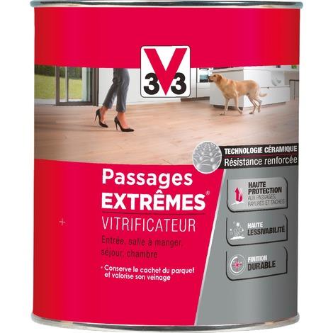 Vitrificateur Passages Extrêmes 750 ml V33 - Cire incolore - Satiné