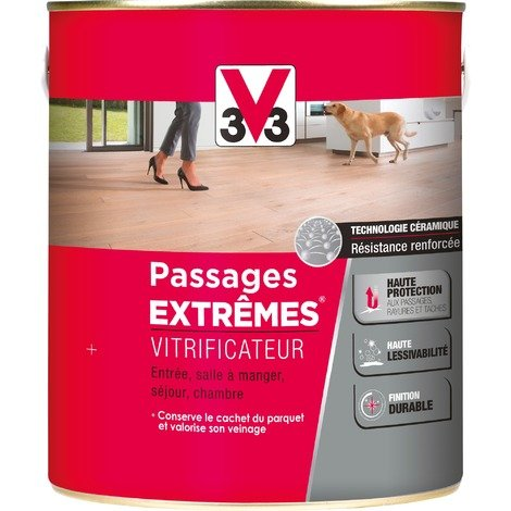 Vitrificateur Passages Extrêmes V33 - Brillant incolore - 2,5 l