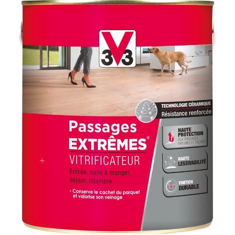 Vitrificateur Passages Extrêmes V33 - Cire incolore - Satiné - 2,5 l