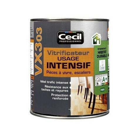Vitrificateur pro satin incolore - plusieurs modèles disponibles