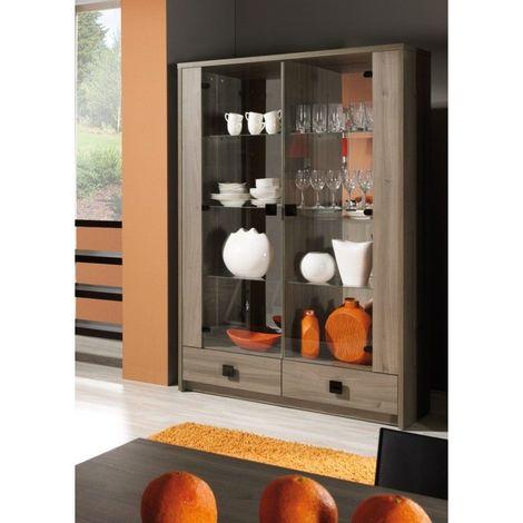 vitrine vaisselier argentier nancy grand mod le meuble pour votre salon ou salle manger 1195